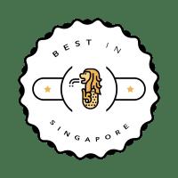Best in Singapore Badge No BG Custom