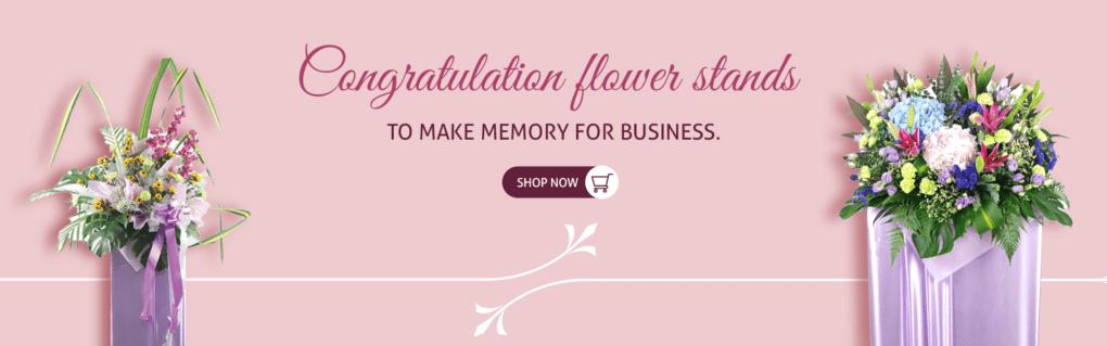 Congratulatory Flower Stands