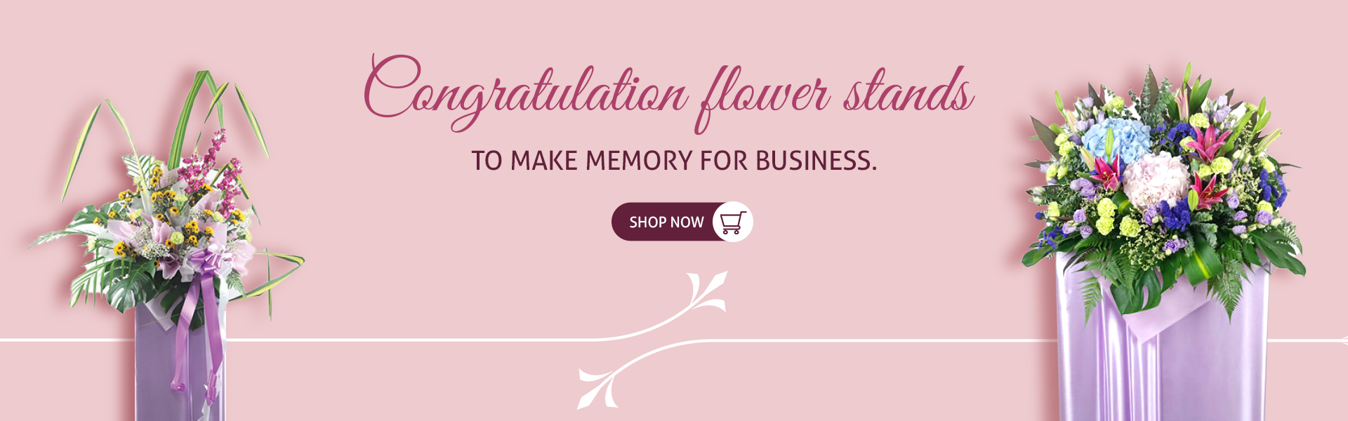 Congratulatory Flower Stands