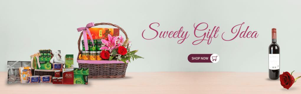 Sweety Gift Idea Hamper Baskets