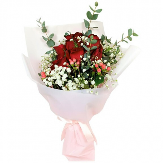 Wedding Rom Hand Bouquet Flowers Singapore Free Delivery