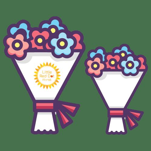 bigger bouquets
